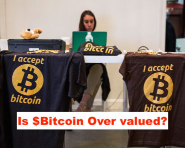 bitcoin over valued